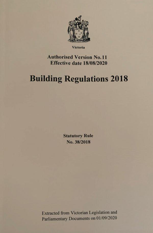 Building Regulatoins 2018