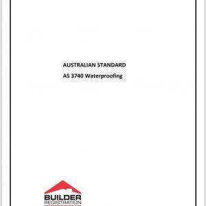 Waterproofing Australian Standards