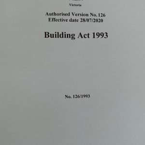 Building Act 1993