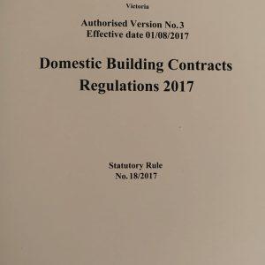 Building Contract Regulations