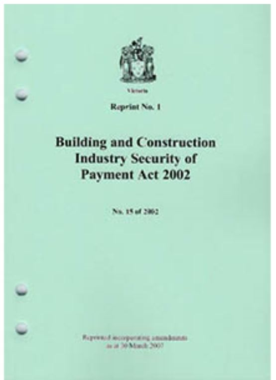 Building and Construction Industry Security or Payment Act