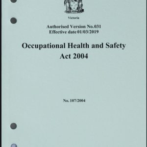 OH&S Regulations 2004