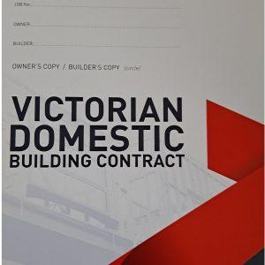 Victorian Domestic Building Contract